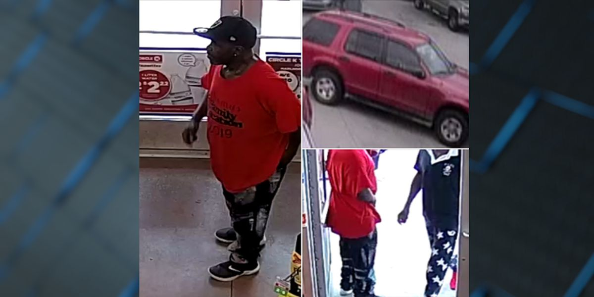 Two men wanted for stealing $1,500 worth in lighters from gas station in Ascension Parish