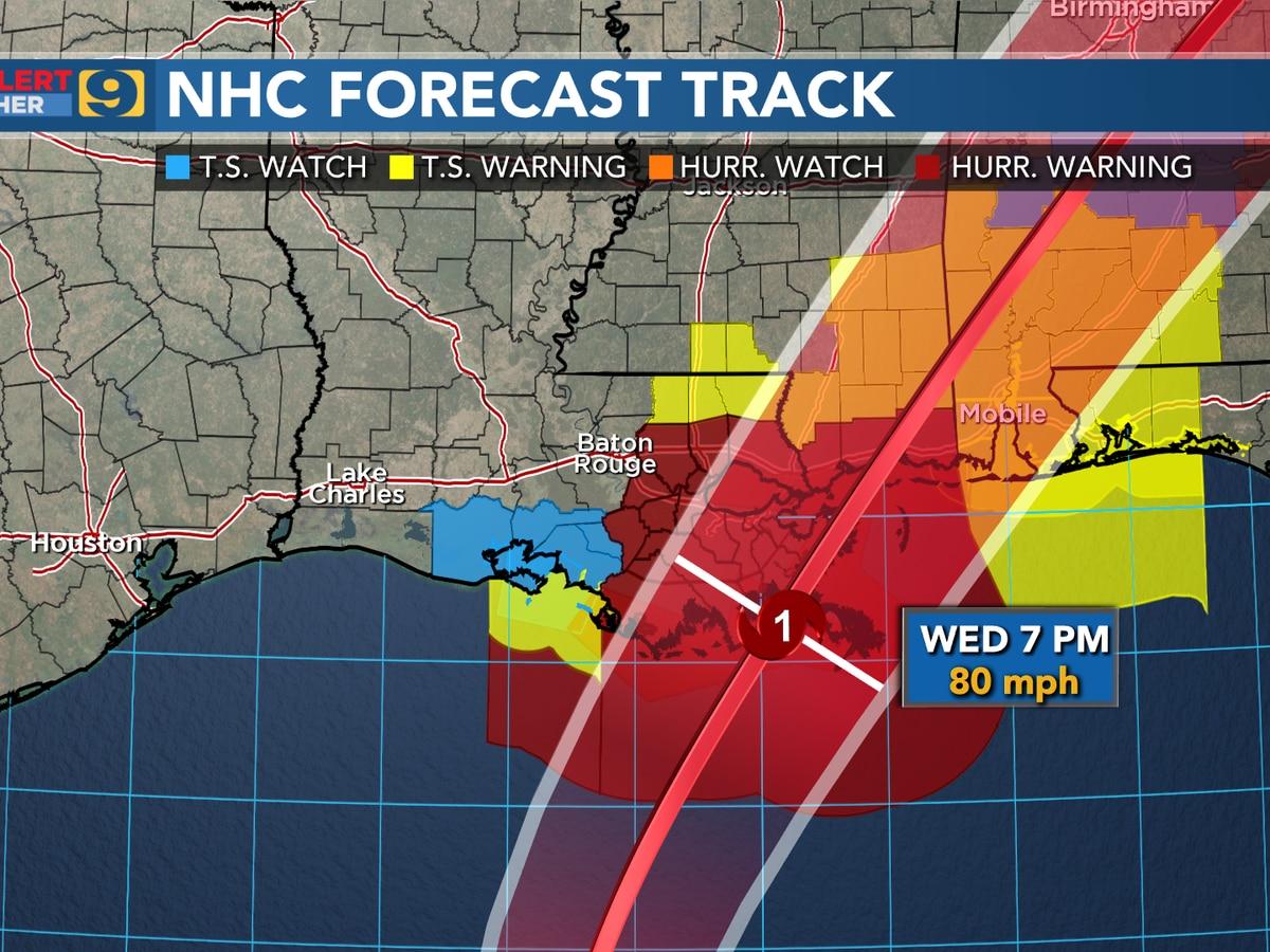 Zeta to make landfall in southeast La. Wednesday