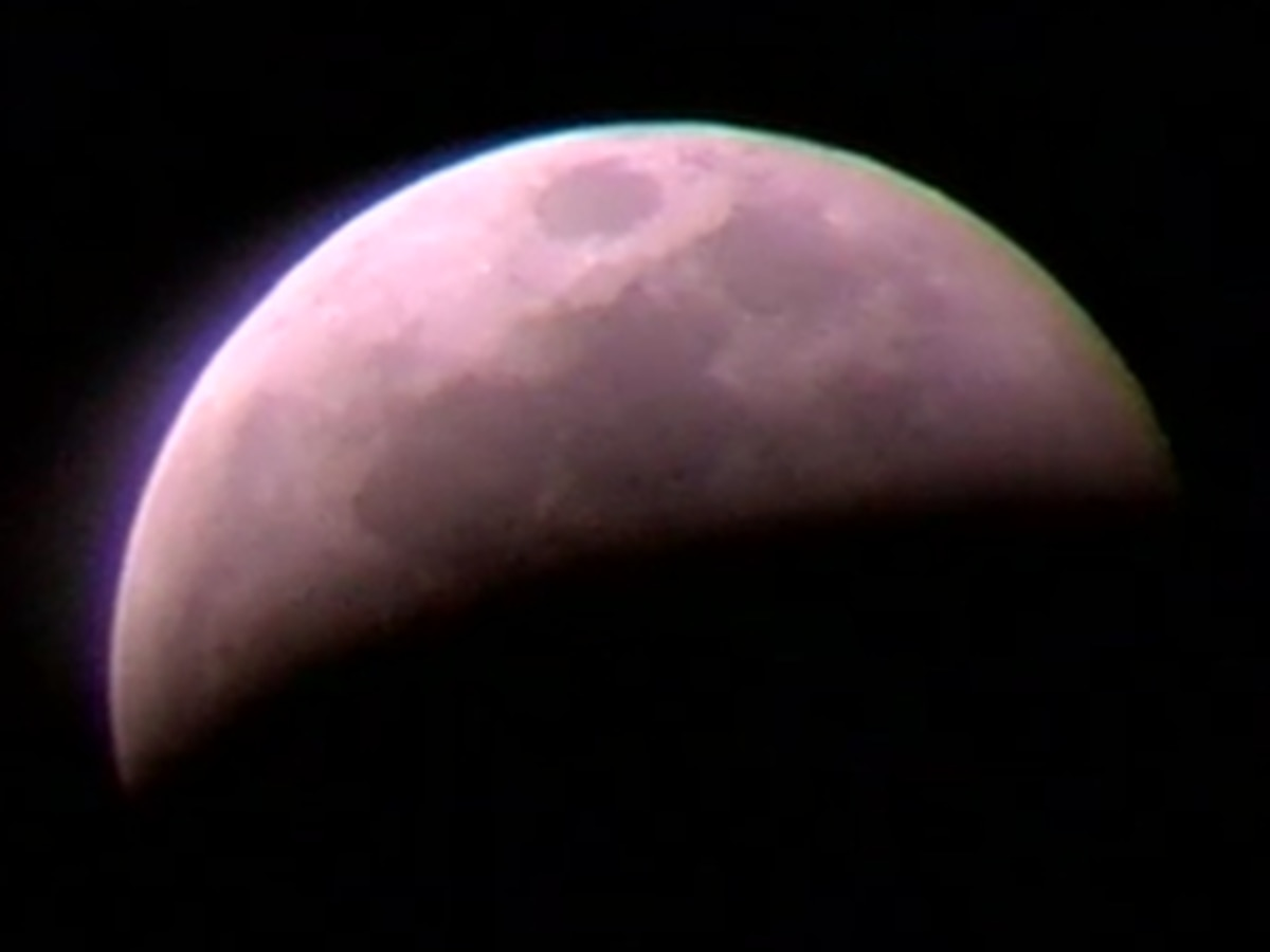 WATCH: Super Blood Wolf Moon Total Eclipse