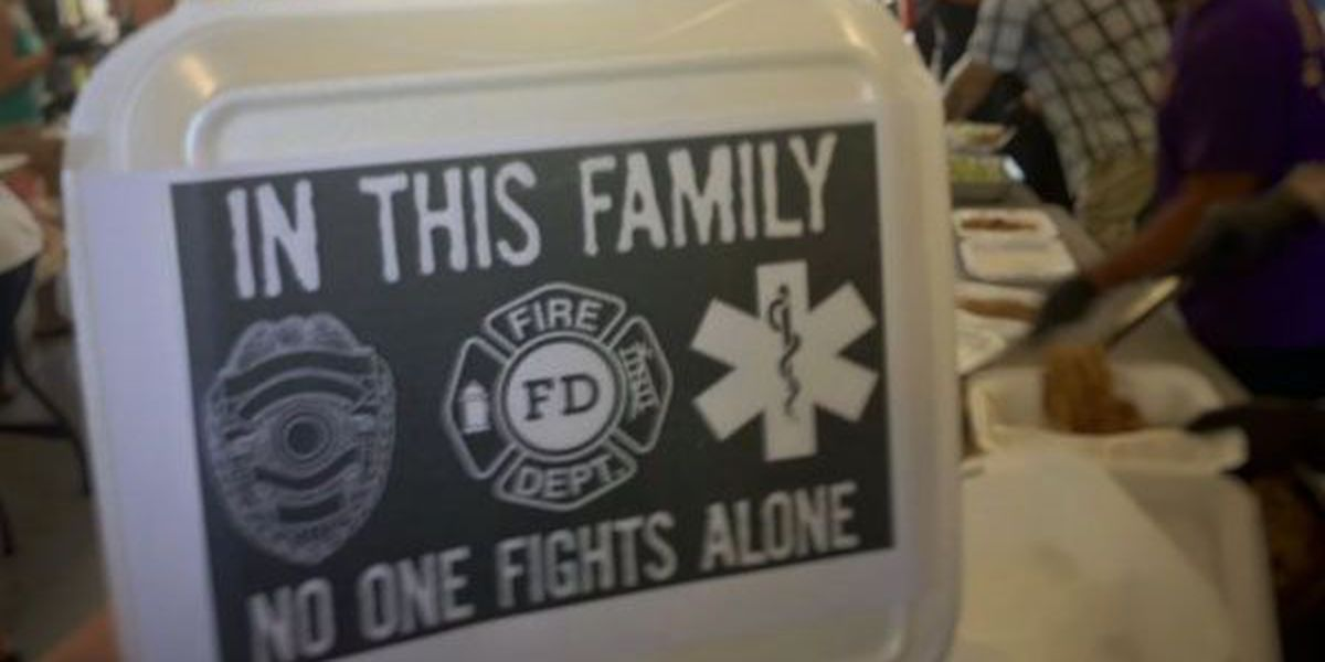 St. George firefighters send message: 'In this family, no one fights alone'