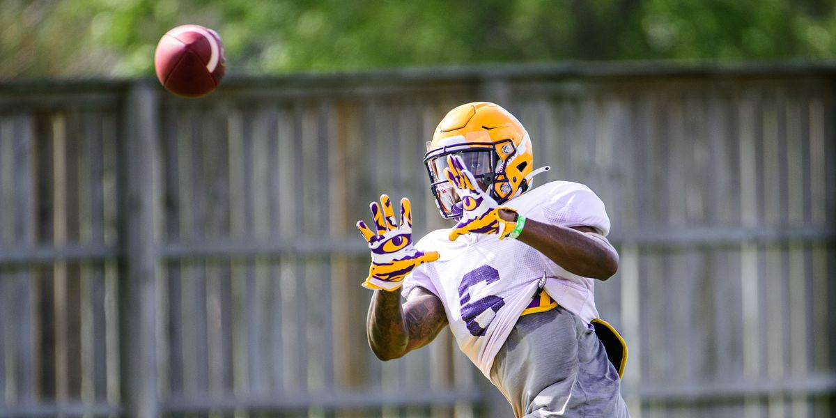 LSU looks for next 4 wide receivers to step up after loss of last year's top 2 pass catchers