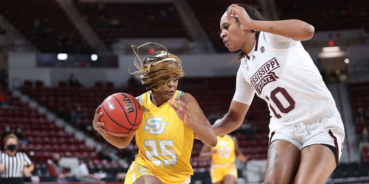 Southern falls to No. 13 Miss. St., 79-55