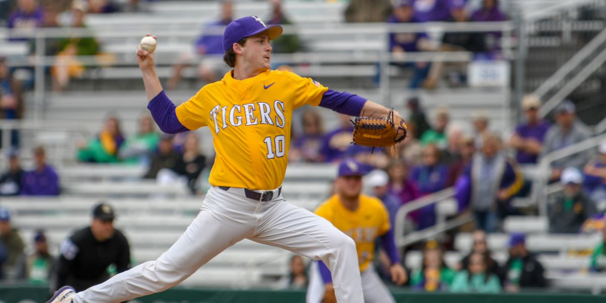 No. 10 LSU baseball sweeps Kentucky