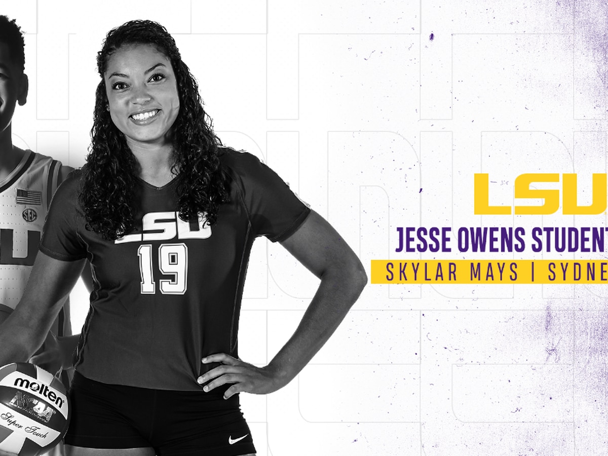LSU student-athletes named Jesse Owens Student Award winners