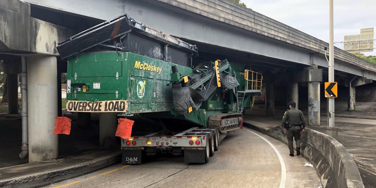 Permit mistake cause of oversized load mishap