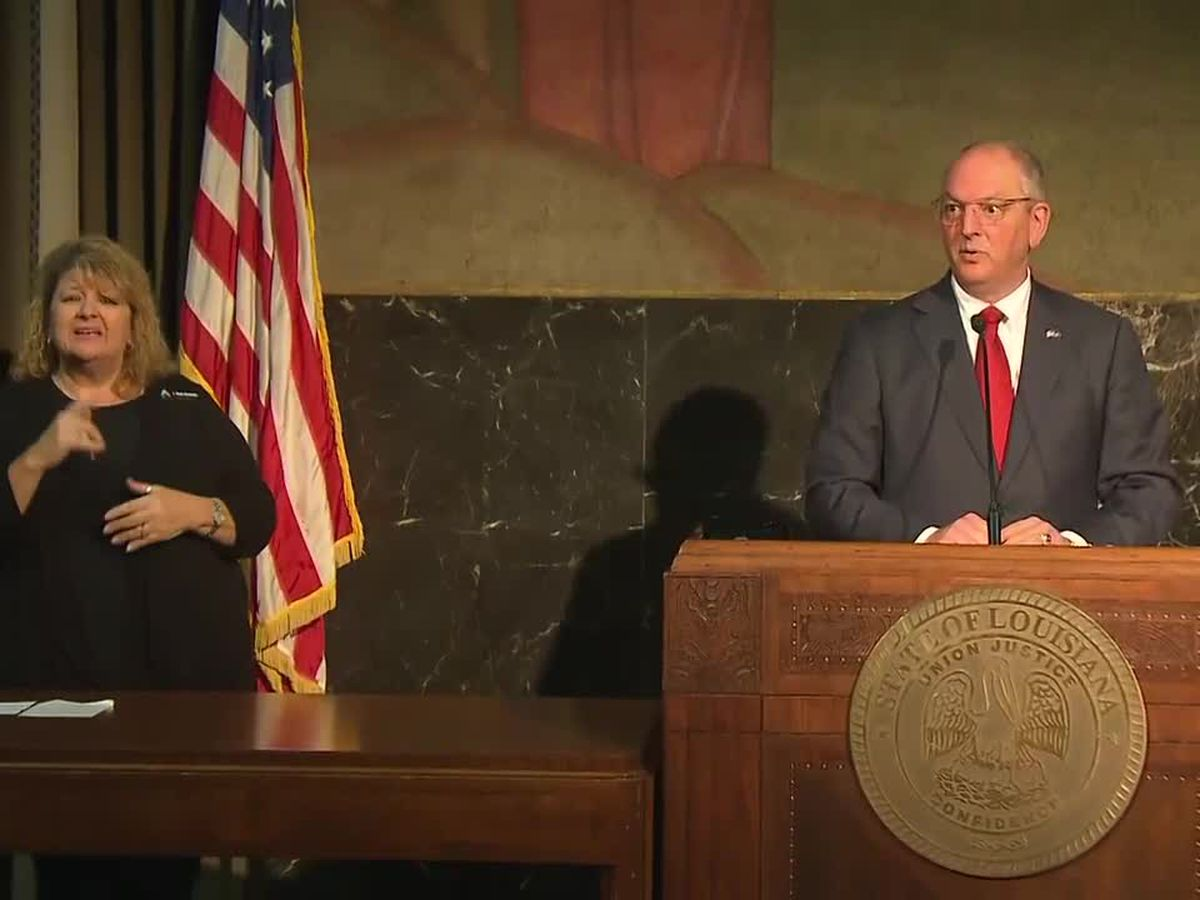 Gov. Edwards says he will join Pres. Biden in Lake Charles