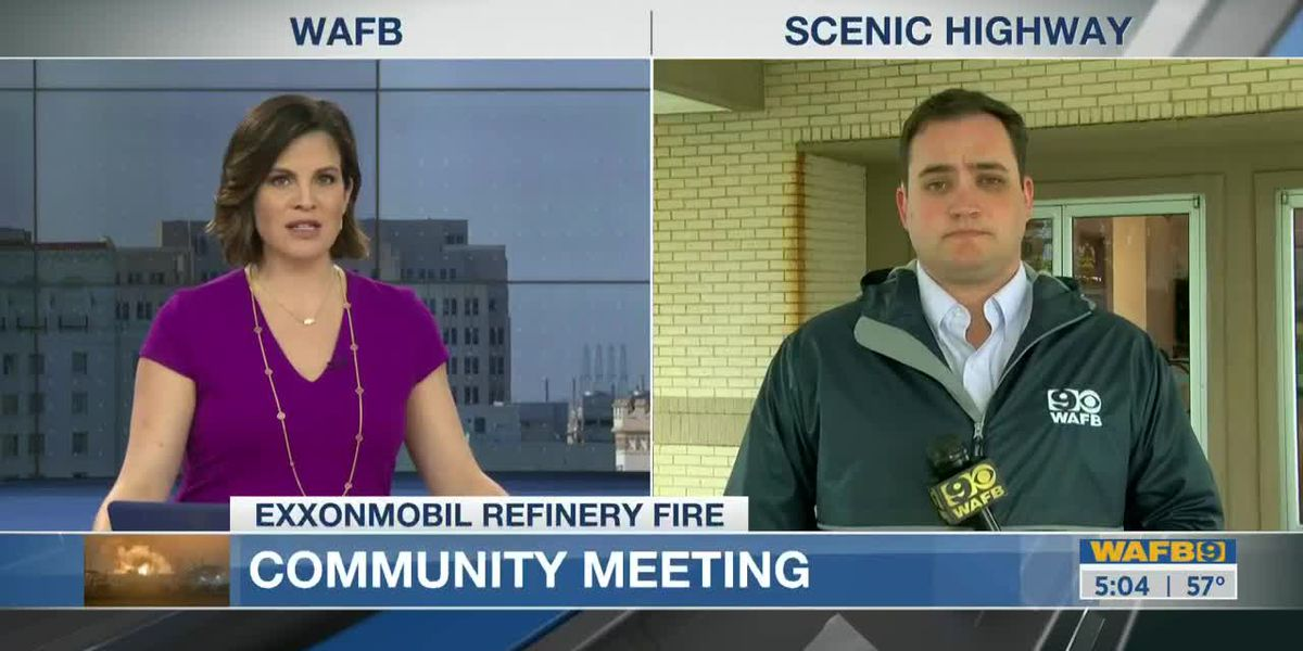 Lawmaker hosts community meeting about Feb. 11 ExxonMobil fire