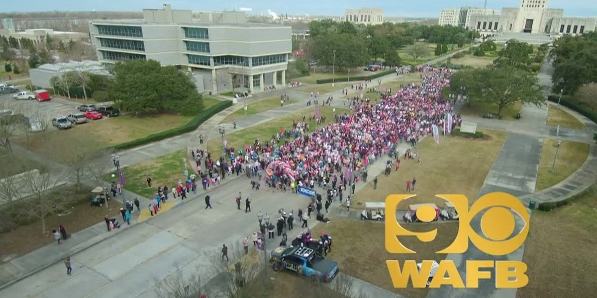 Hundreds in Baton Rouge race for a cure
