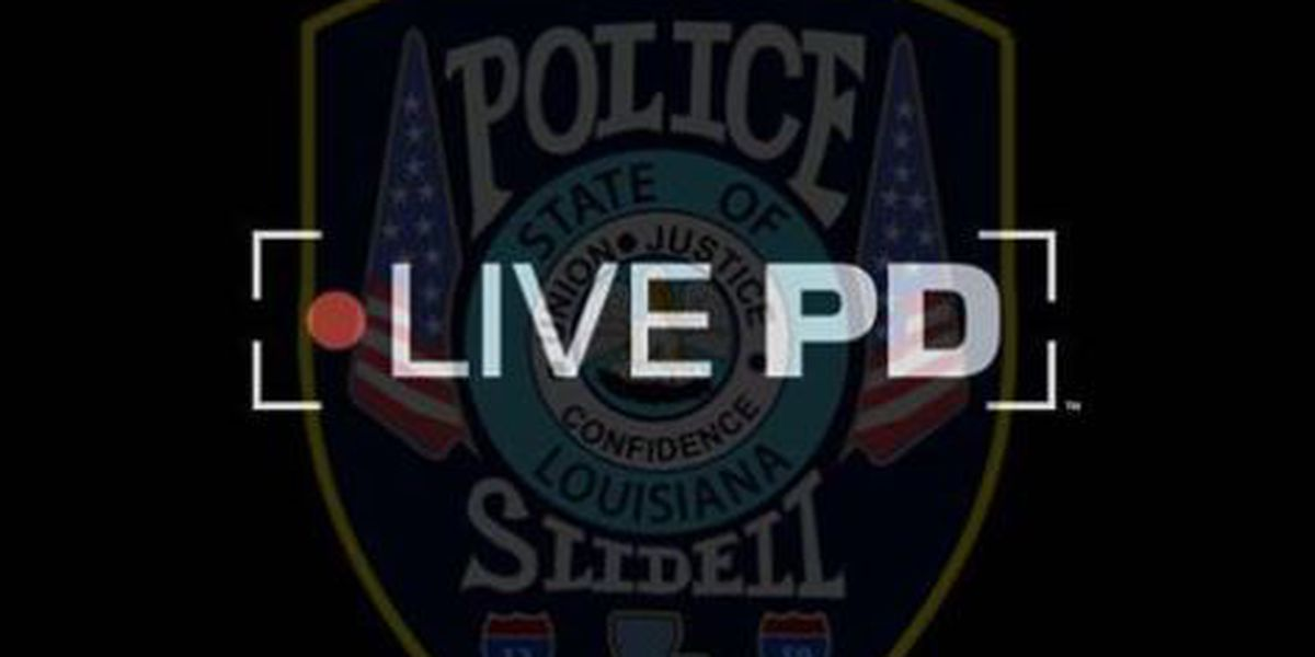 Slidell Police Department to be featured on A&E's 'Live PD'