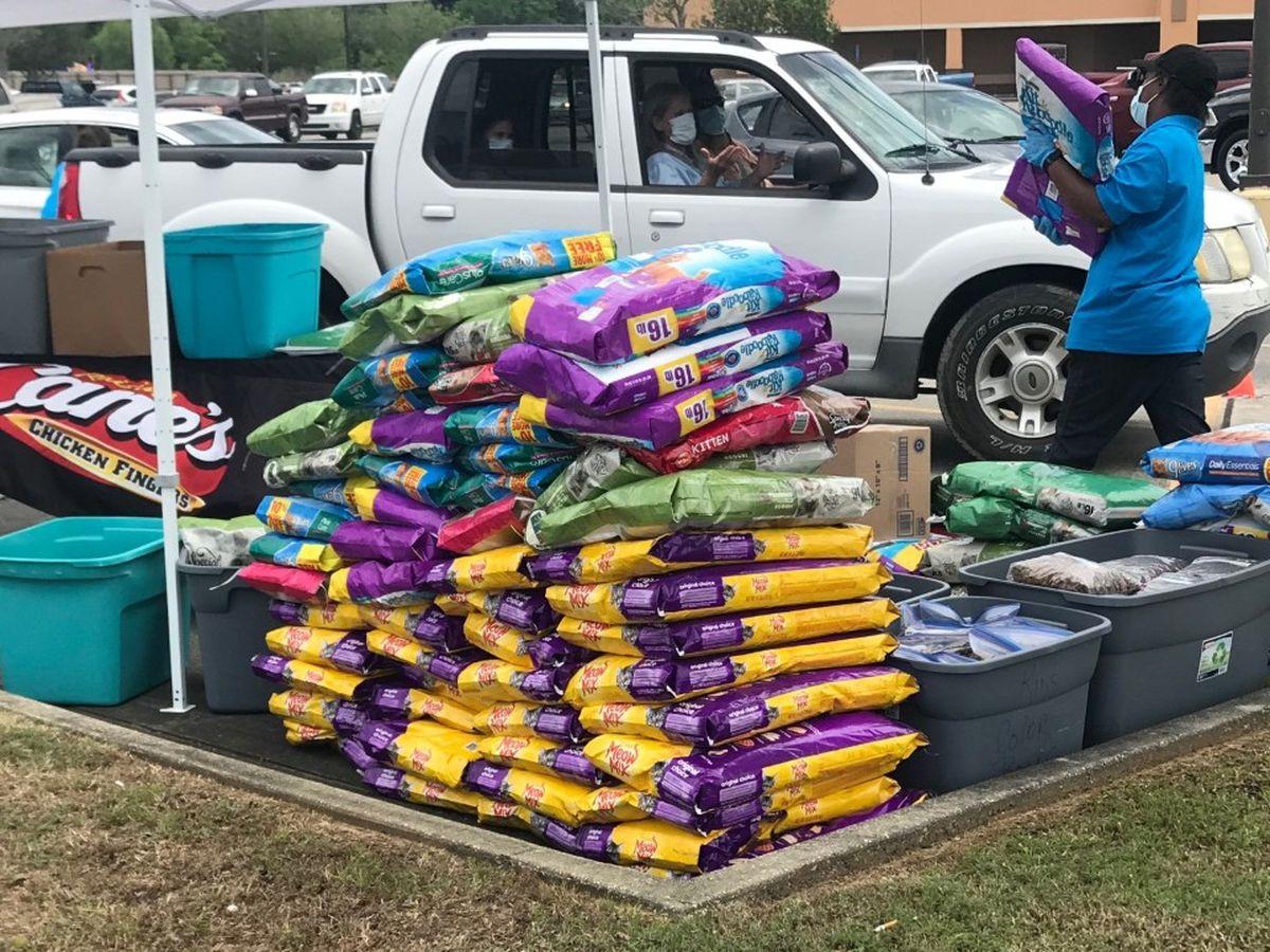 Rescue Alliance hosting drive-thru emergency pet food giveaway in Denham Springs