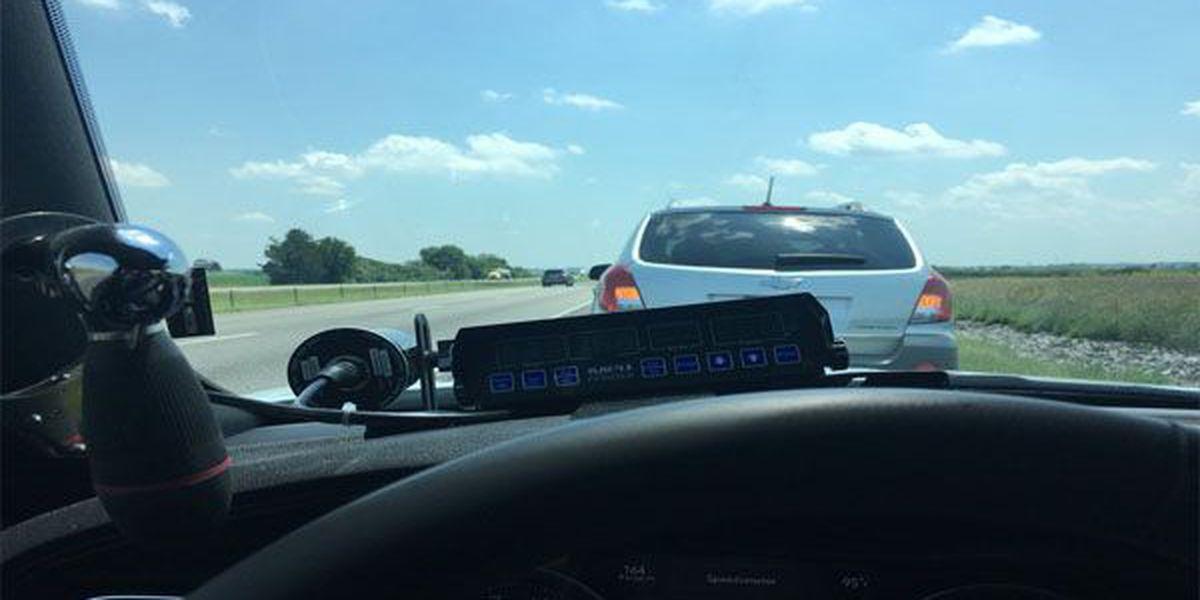 Officer's tweet on pulling over slow driver in left lane goes viral