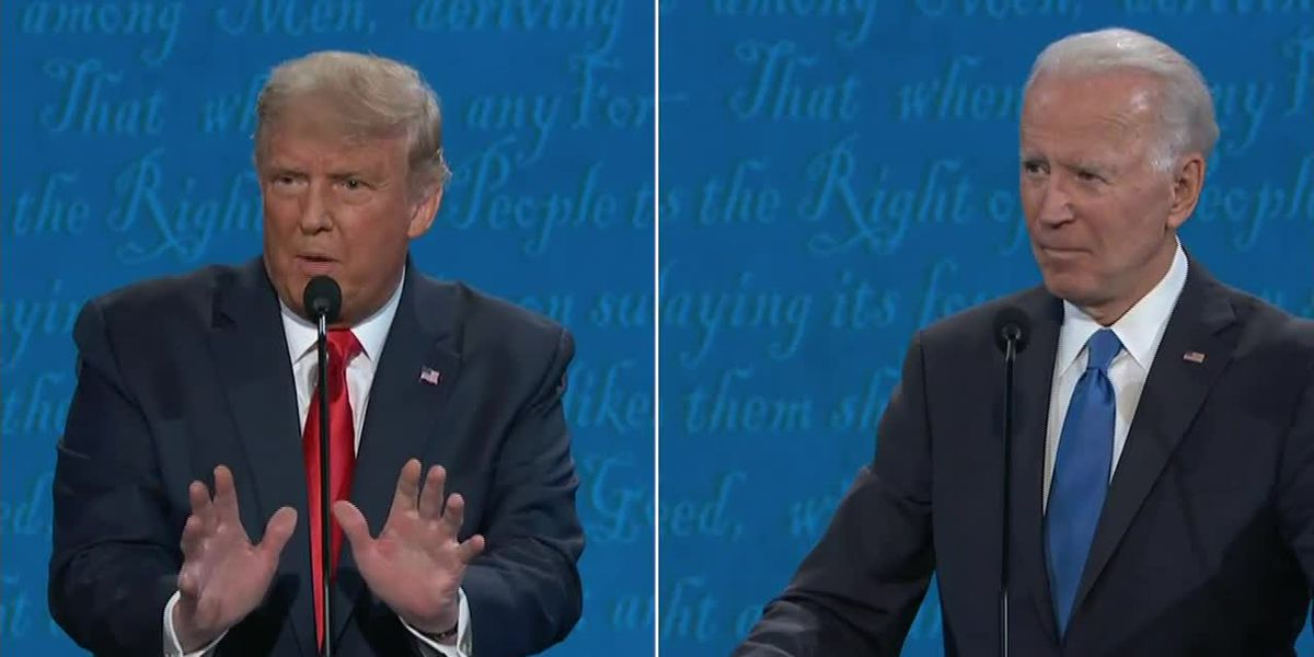 Trump, Biden push to Election Day after final debate