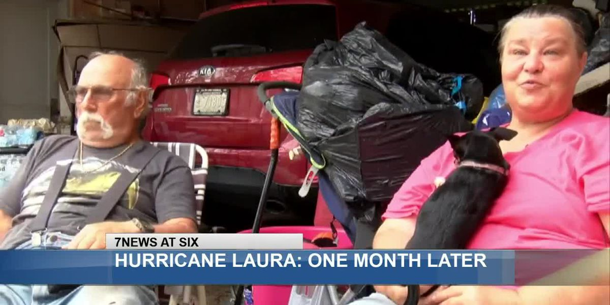 One month after Hurricane Laura, many SWLA residents await help while living in tents