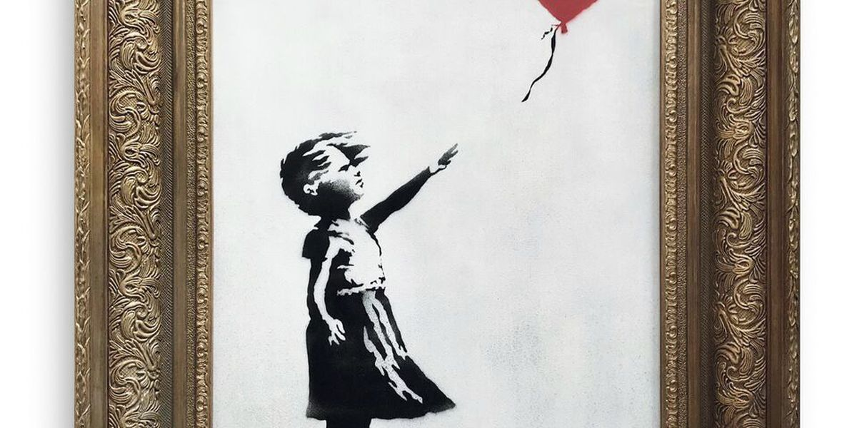 Banksy artwork self-destructs just after $1.4 million sale
