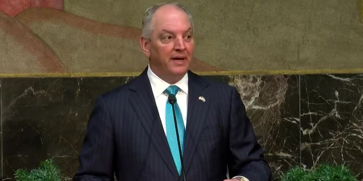 Gov. Edwards says he'll sign a state of emergency following severe storms in Louisiana