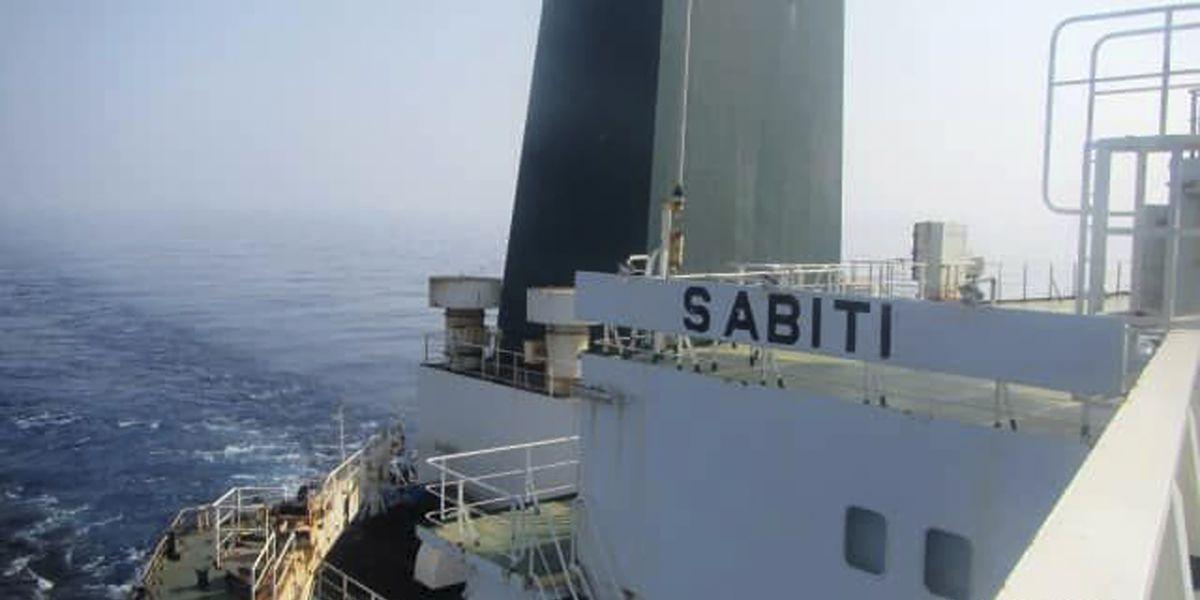 Iran says missiles strike its oil tanker off Saudi Arabia