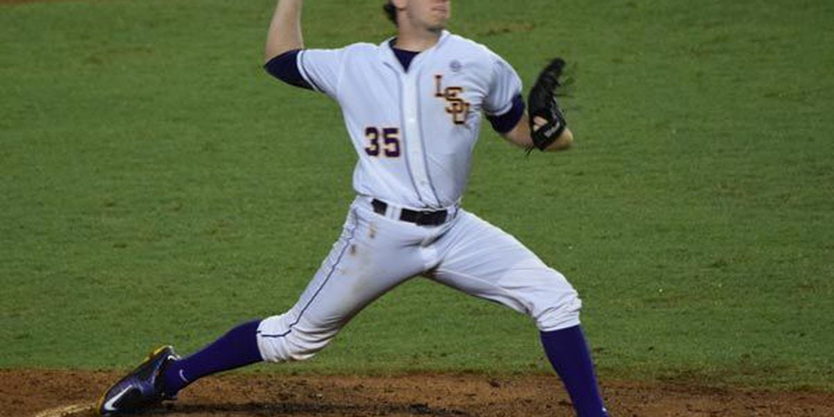 LSU's Lange named the 2015 NCBWA National Freshman Pitcher of the Year