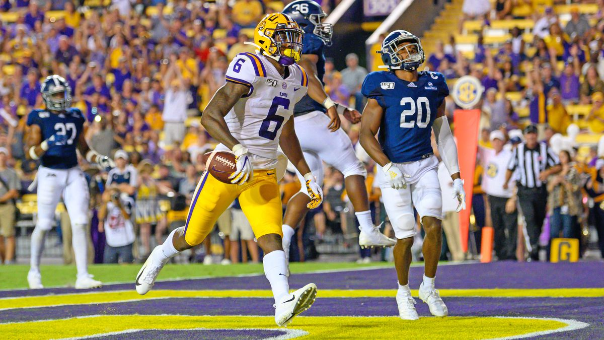 LSU wide receiver Terrace Marshall Jr. ready for Auburn