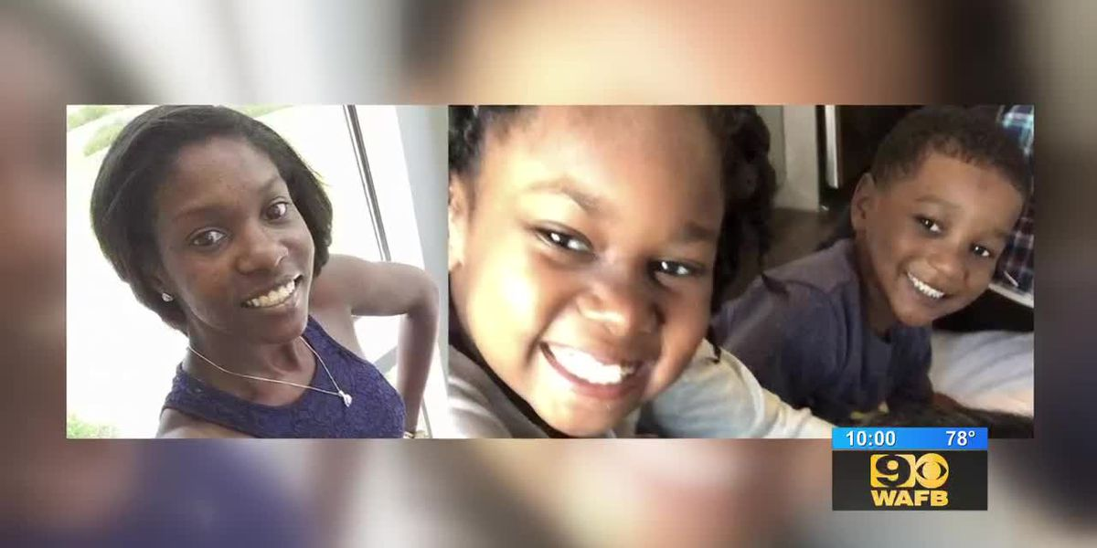 Missing mother and two children