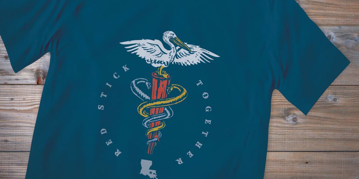 BR agency creates custom t-shirts to build community spirit, raise money for first responders