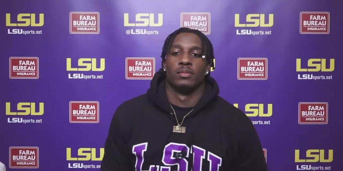 LSU WR Terrace Marshall Jr. - 10/27/20 (Full Interview)