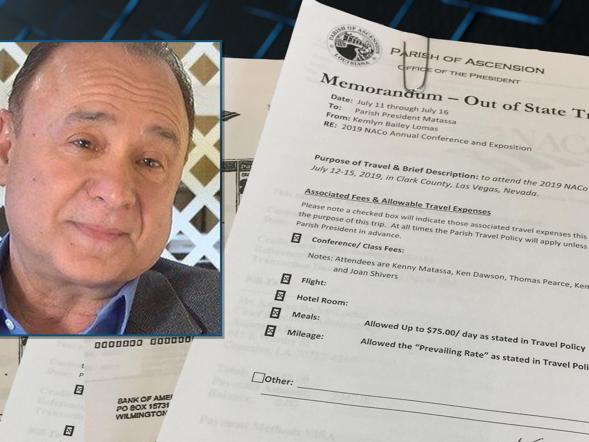 THE INVESTIGATORS: Ascension leaders spend over $10k on hotels, fees for taxpayer-funded conference to Vegas, records show