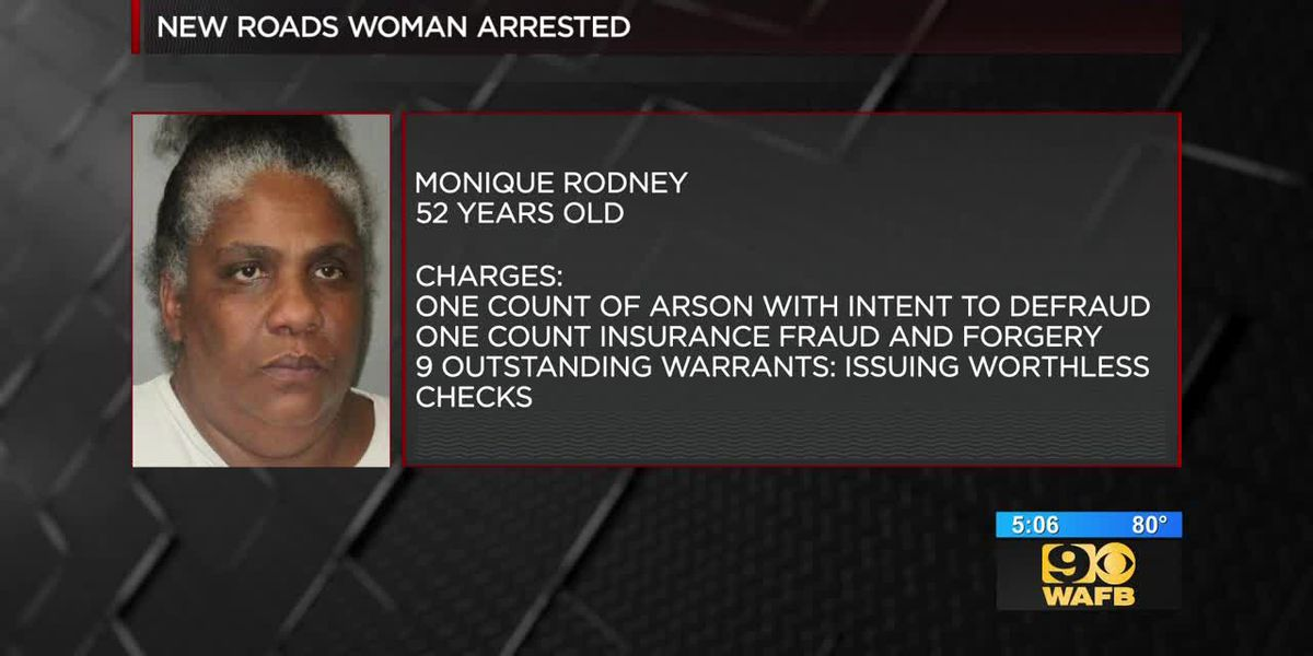 New Roads woman arrested