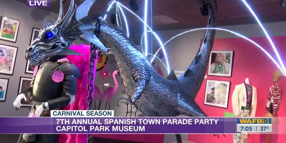 Capitol Park Museum hosts 7th Annual Spanish Town Mardi Gras Parade Party -7 a.m.