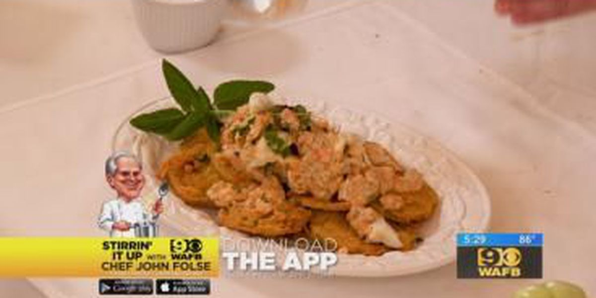 Stirrin' It Up: Crab Rémoulade with Fried Green Tomatoes (July 31, 2018)