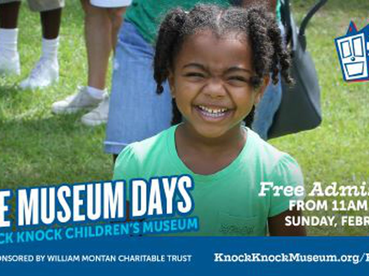 Knock Knock Children's Museum to host another free day