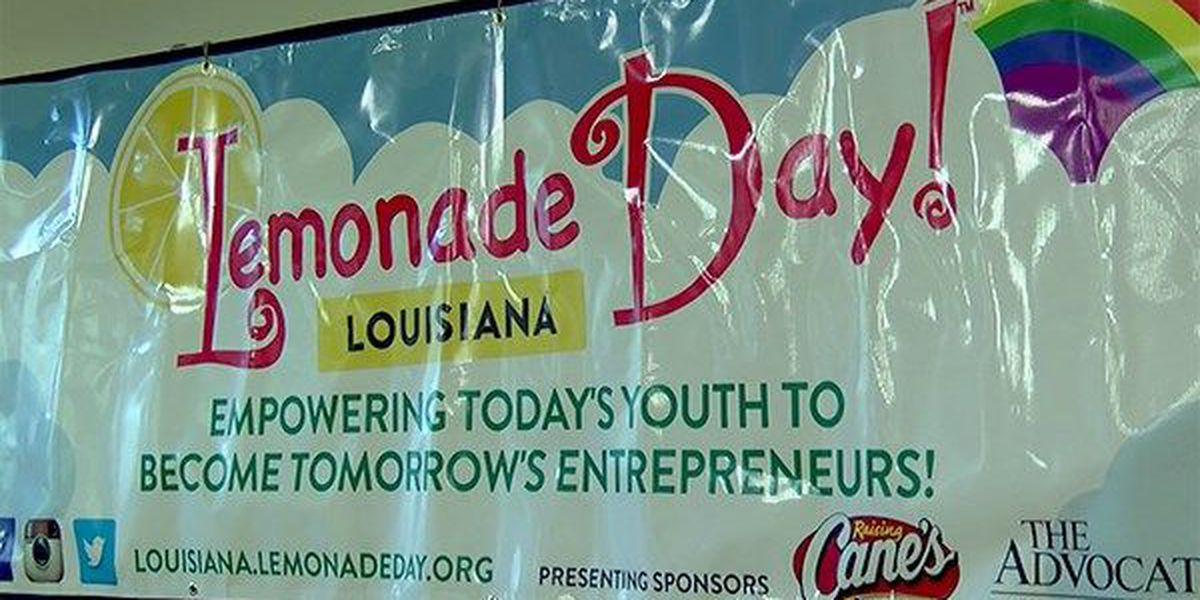 6th annual Lemonade Day Louisiana set for Saturday, April 30