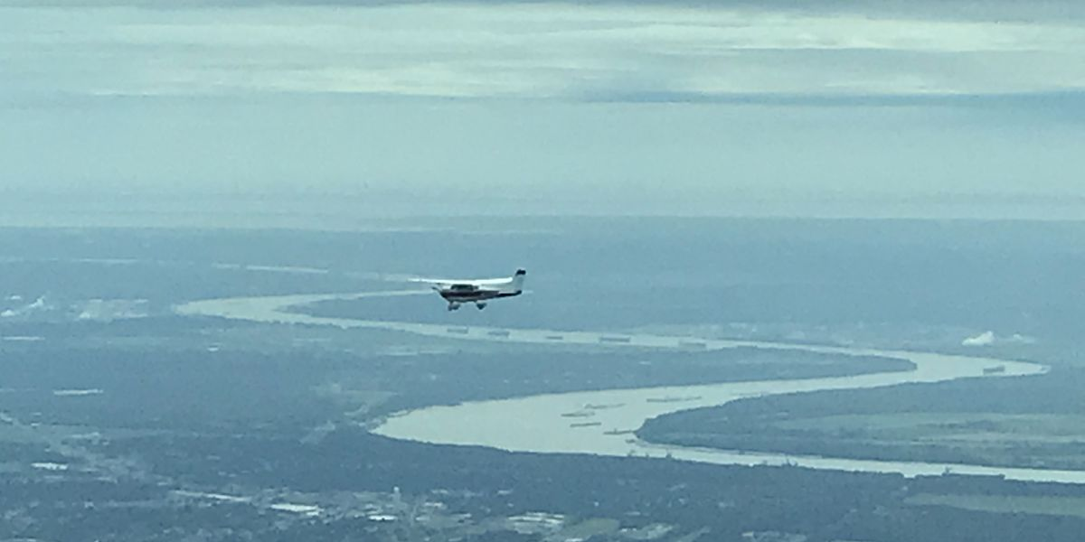 Cajun Airlift delivers supplies to Mexico Beach, Florida