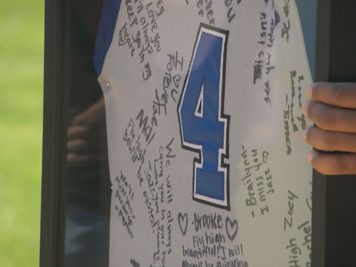 Port Allen High School remembers their classmate Jazzimane Woods