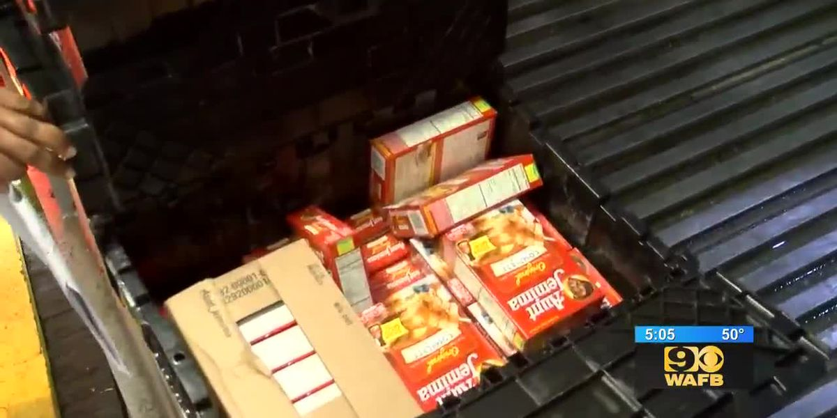 Louisiana women's prison makes generous donation to food bank