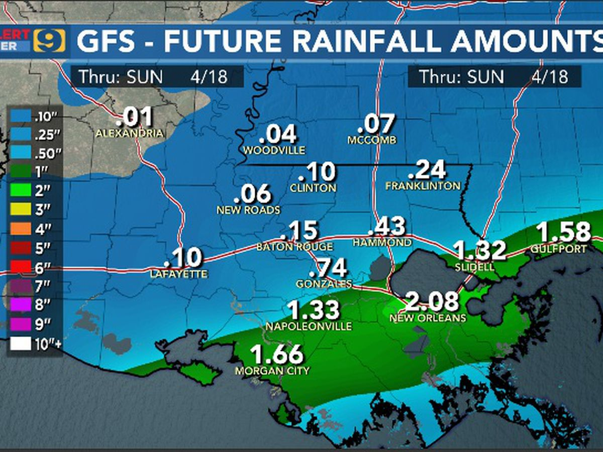 FIRST ALERT FORECAST: Wet weather continues; expect rain throughout the day