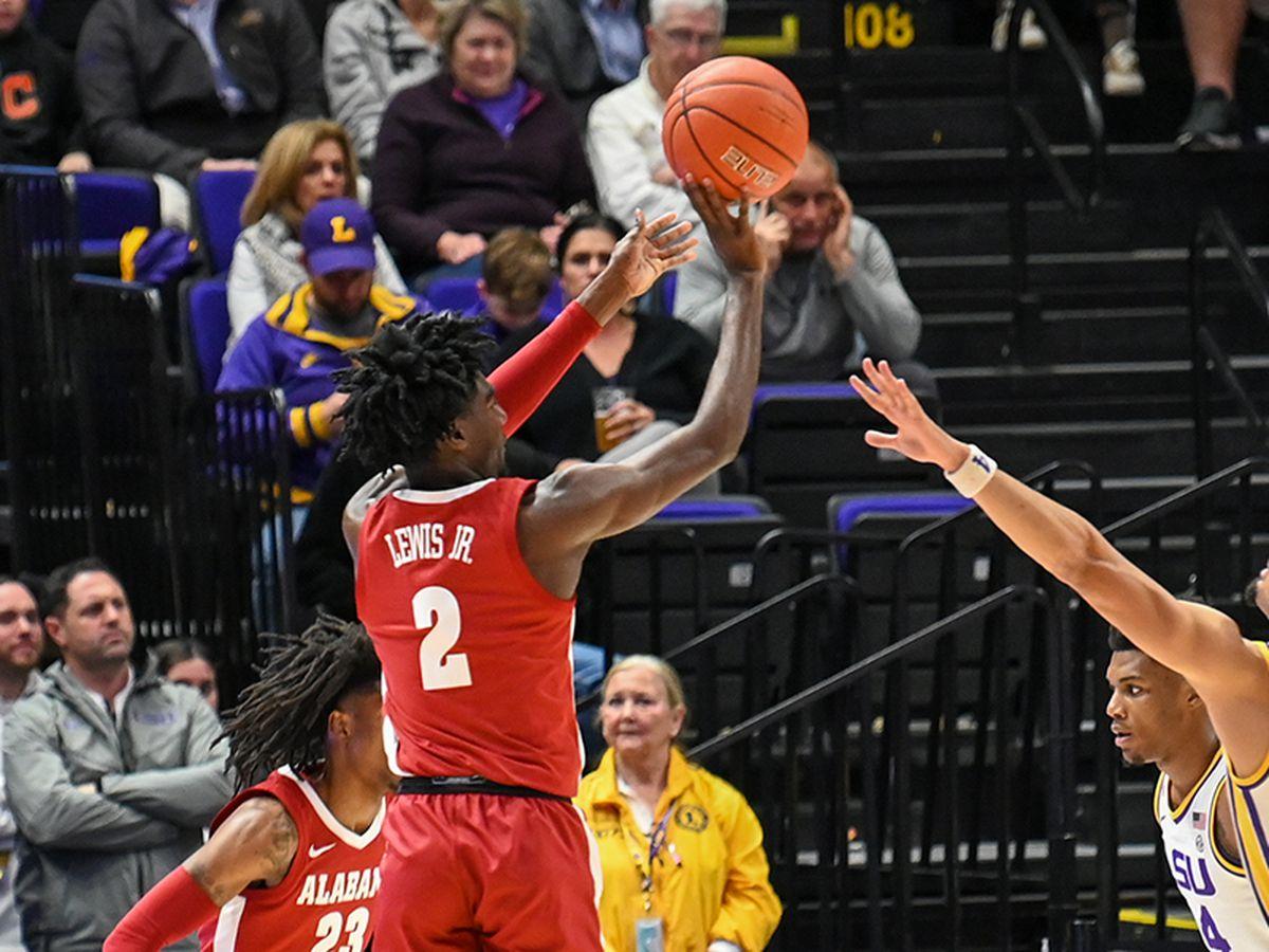 Pelicans select Alabama point guard Kira Lewis Jr. at No. 13 overall in 2020 NBA Draft