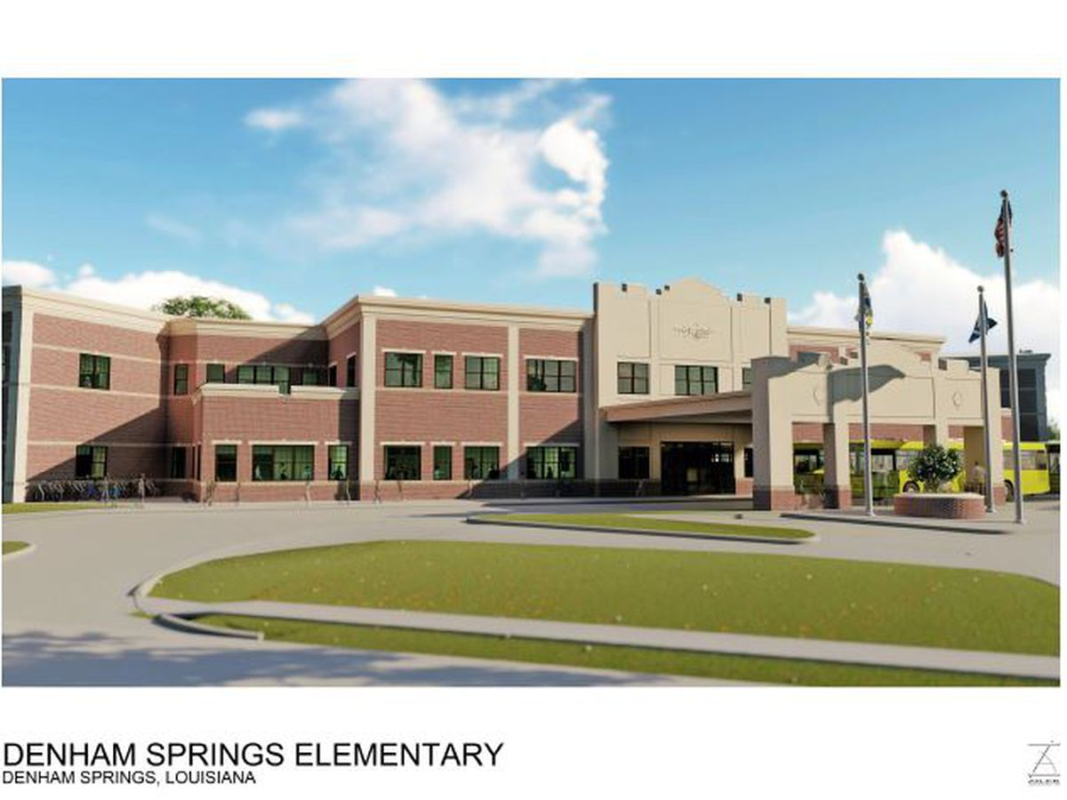 New Denham Springs Elementary will be first two-story