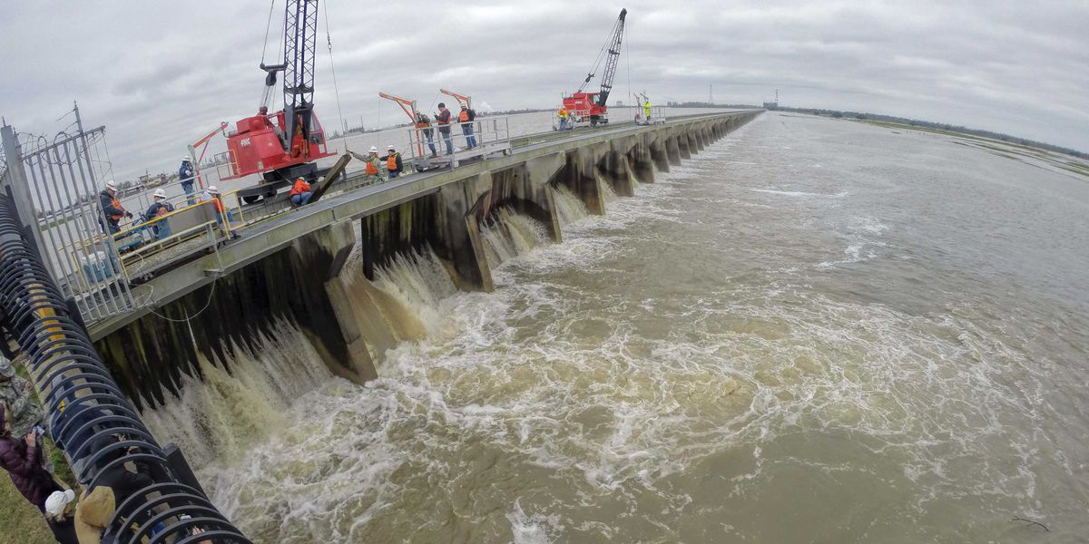 The Bonnet Carre Spillway sets a record for the most days operating in a single year