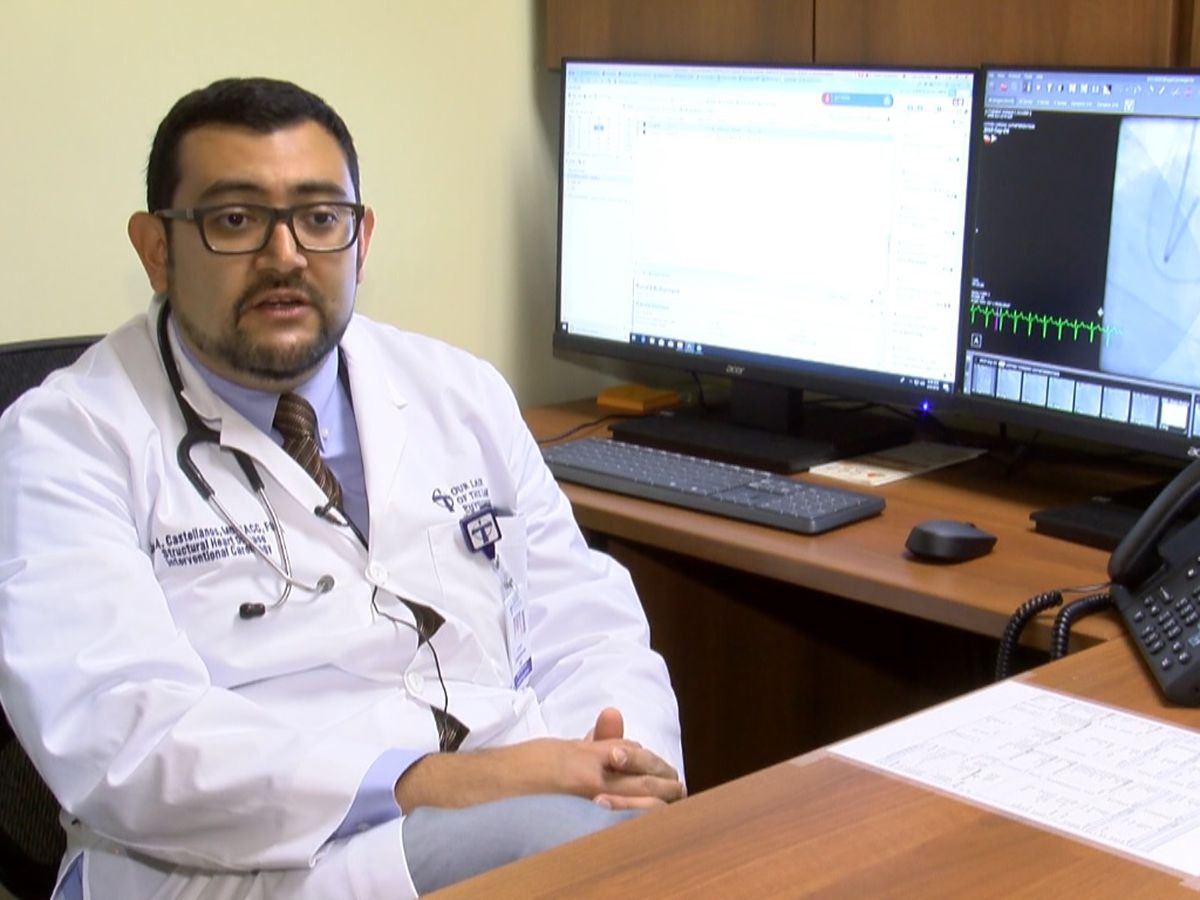 New OLOL interventional cardiologist performs first heart condition procedure using alcohol at The Lake