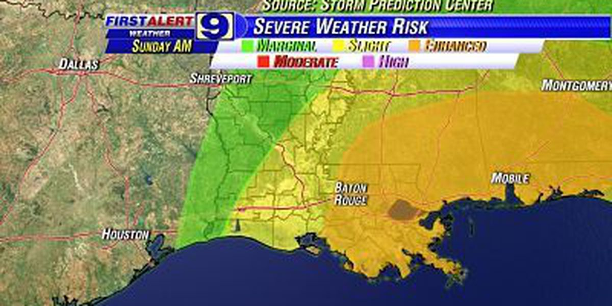 Threat for Severe Weather Overnight Tonight