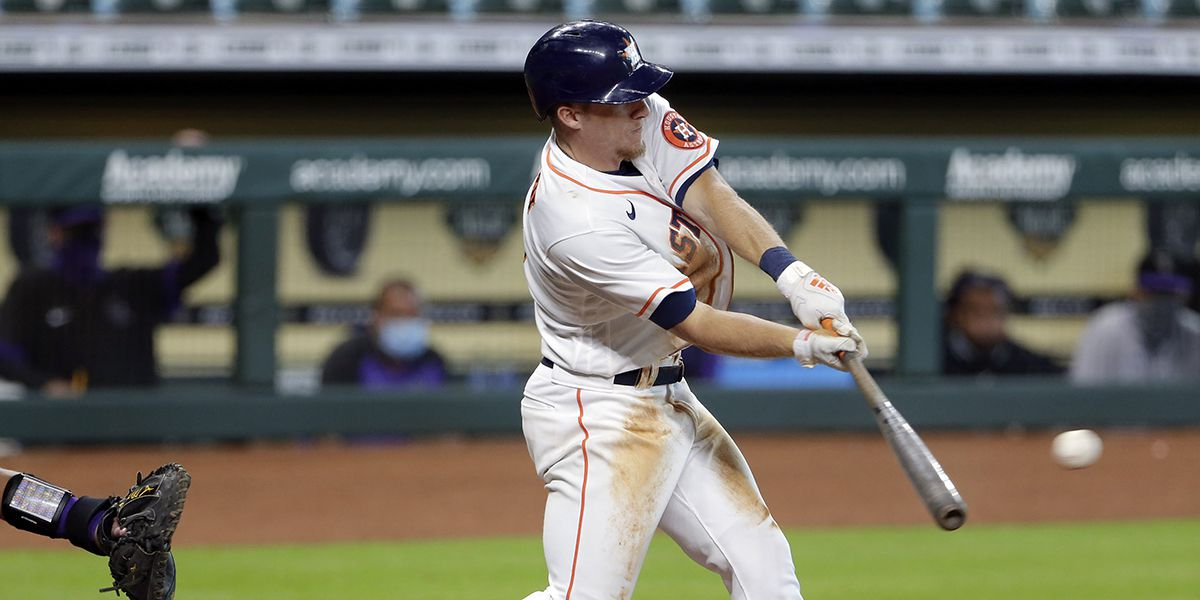Astros beat Rockies in 11 innings on walk-off single by Myles Straw