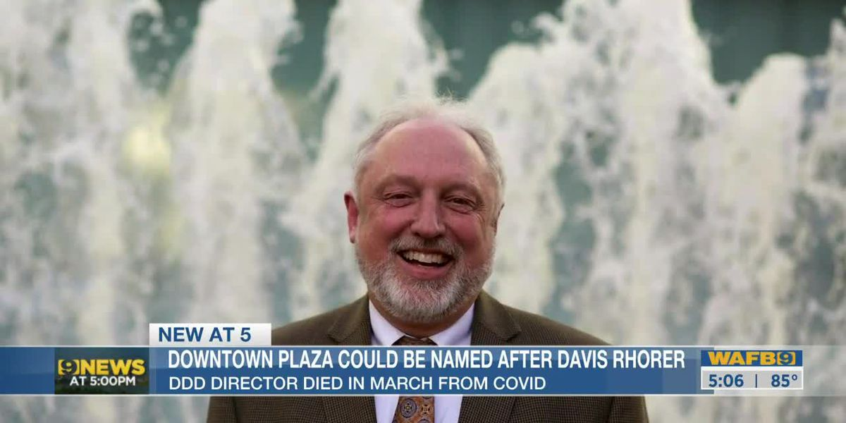 Mayor-President Broome looking to rename City Hall Plaza in Downtown after Davis Rhorer