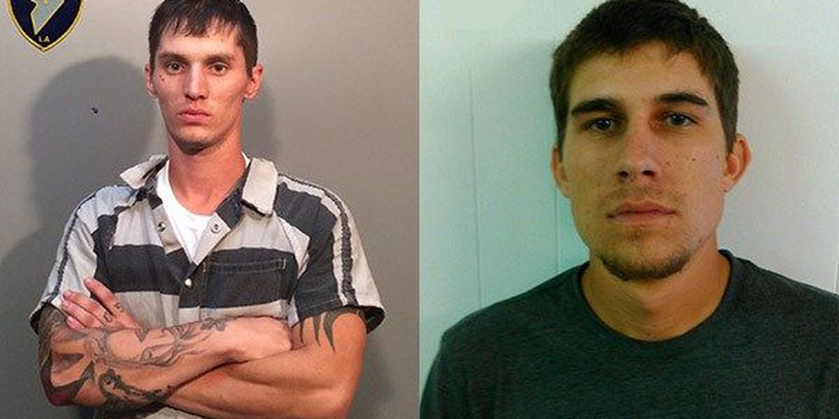 Two Pierre Part men arrested for allegedly burglarizing residence