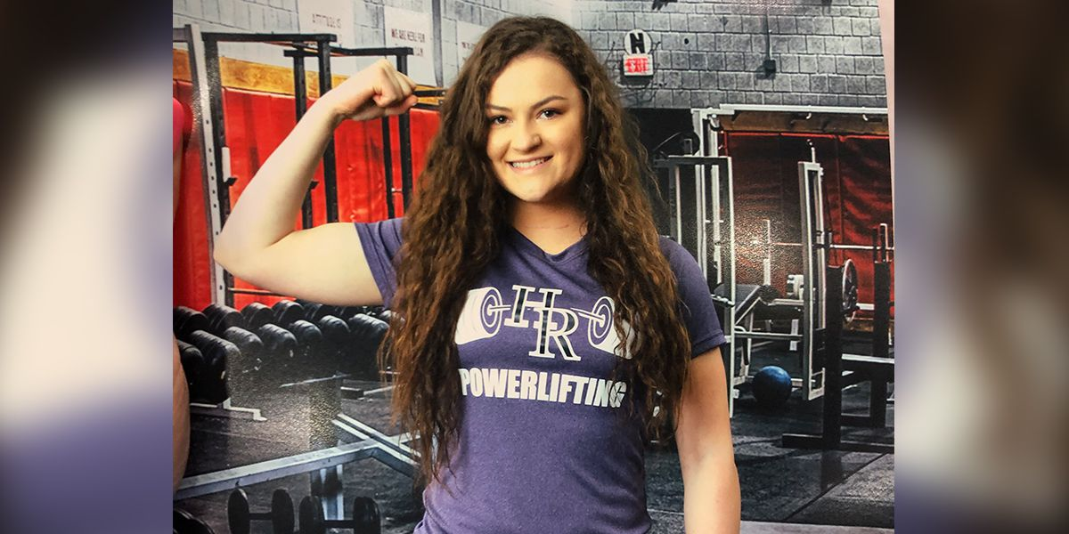 Holden powerlifter beats cancer to win state title