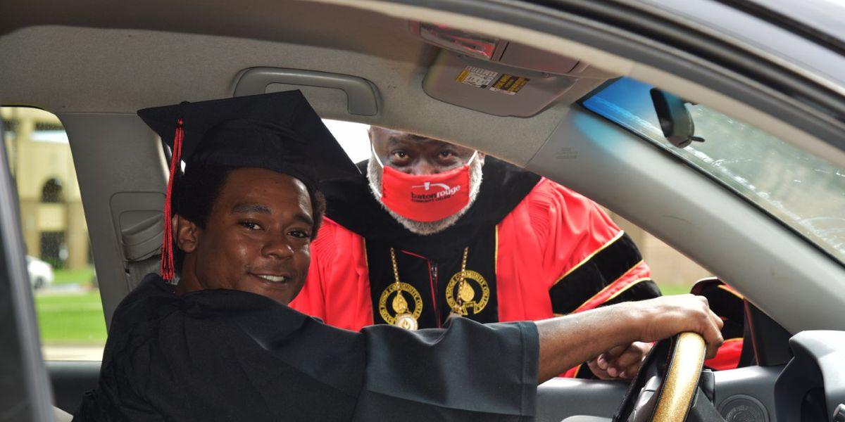 BRCC celebrate graduates with special drive-thru ceremony