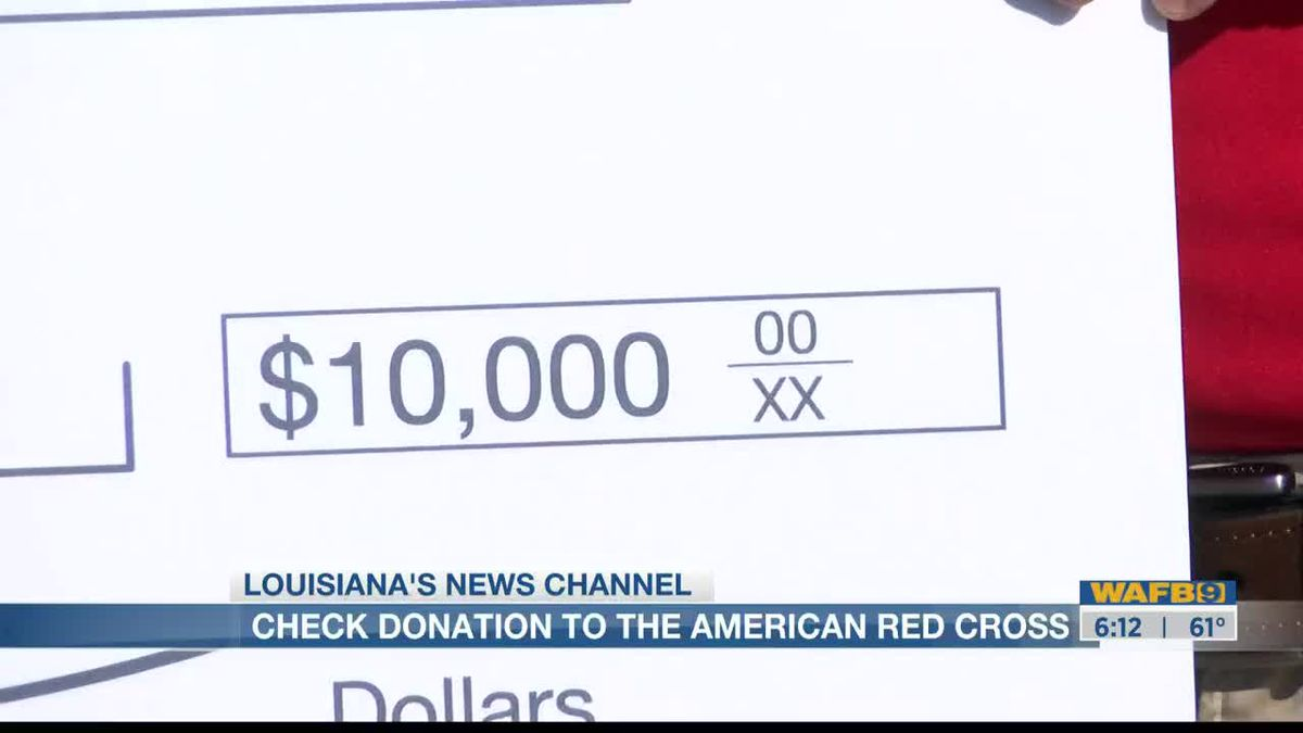 All Star Automotive Group presents check for $10k to American Red Cross for hurricane relief efforts