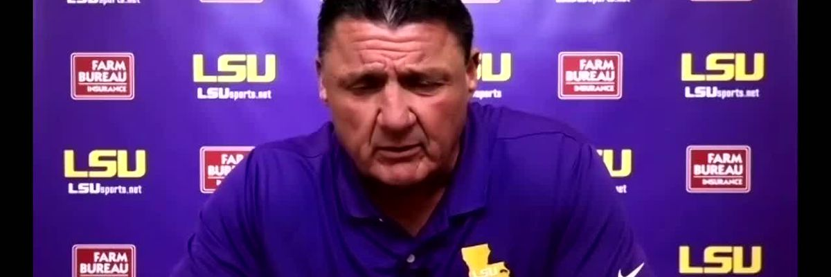 FULL VIDEO: Lunch with Coach O: LSU vs. Texas A&M preview