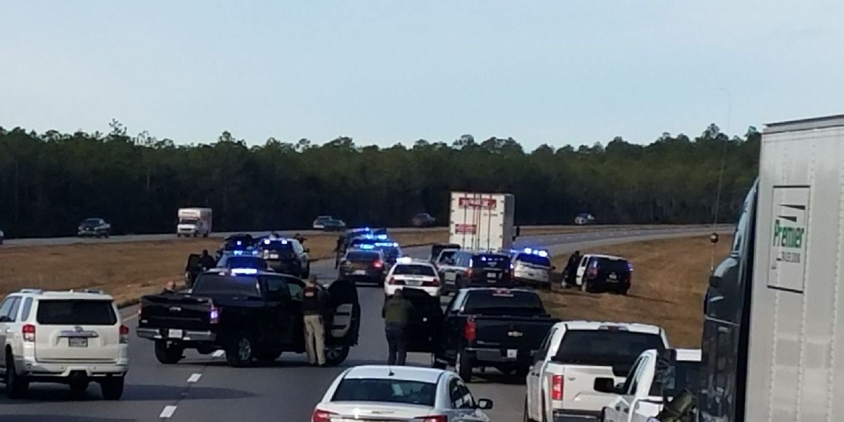 UPDATE: Driver in I-10 standoff now facing more charges