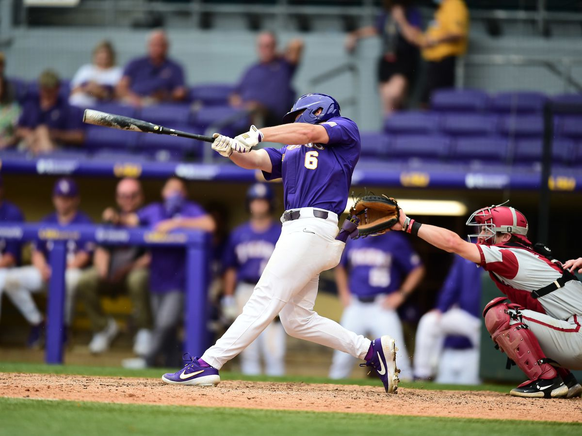 LSU outfielder named Co-SEC Player of the Week