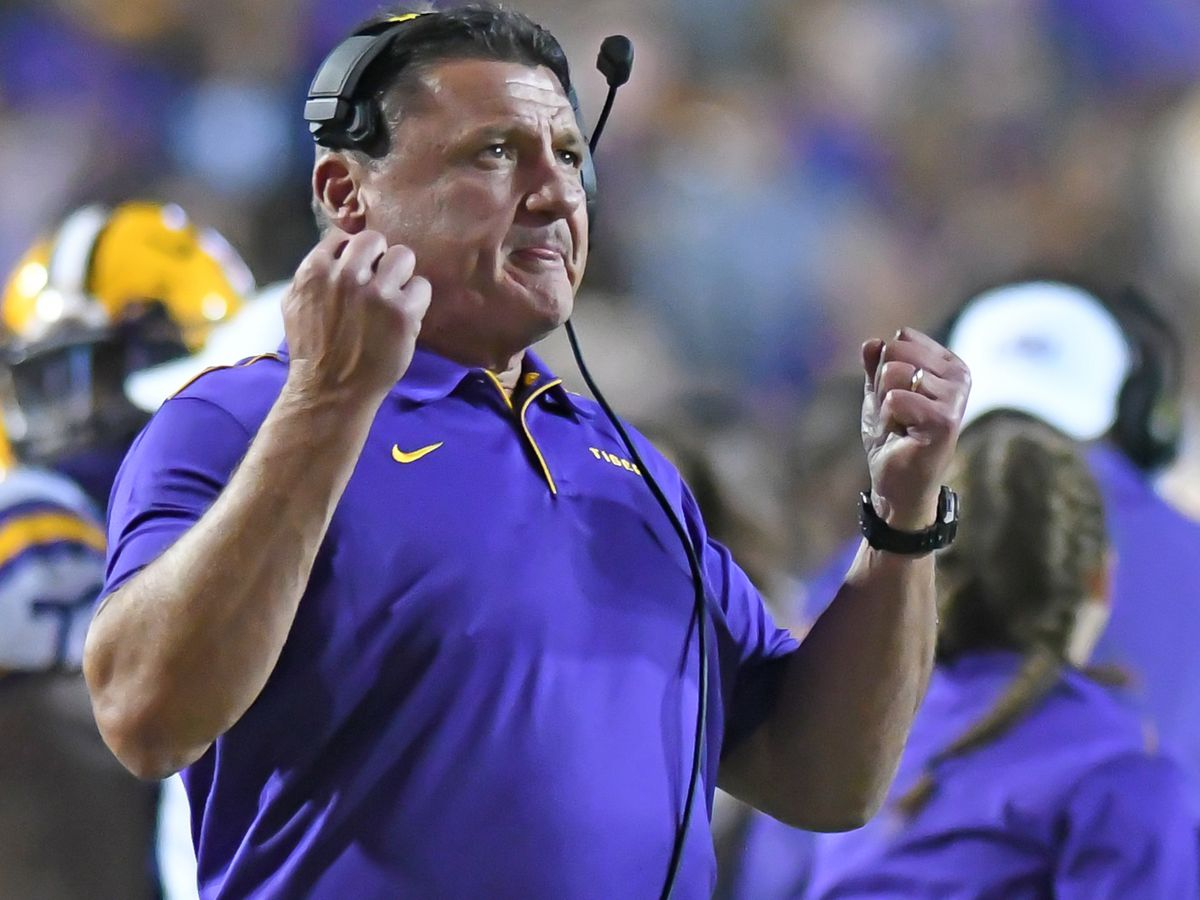 LSU soars in both college polls; up to No. 2 in AP Top 25, No. 3 in Coaches